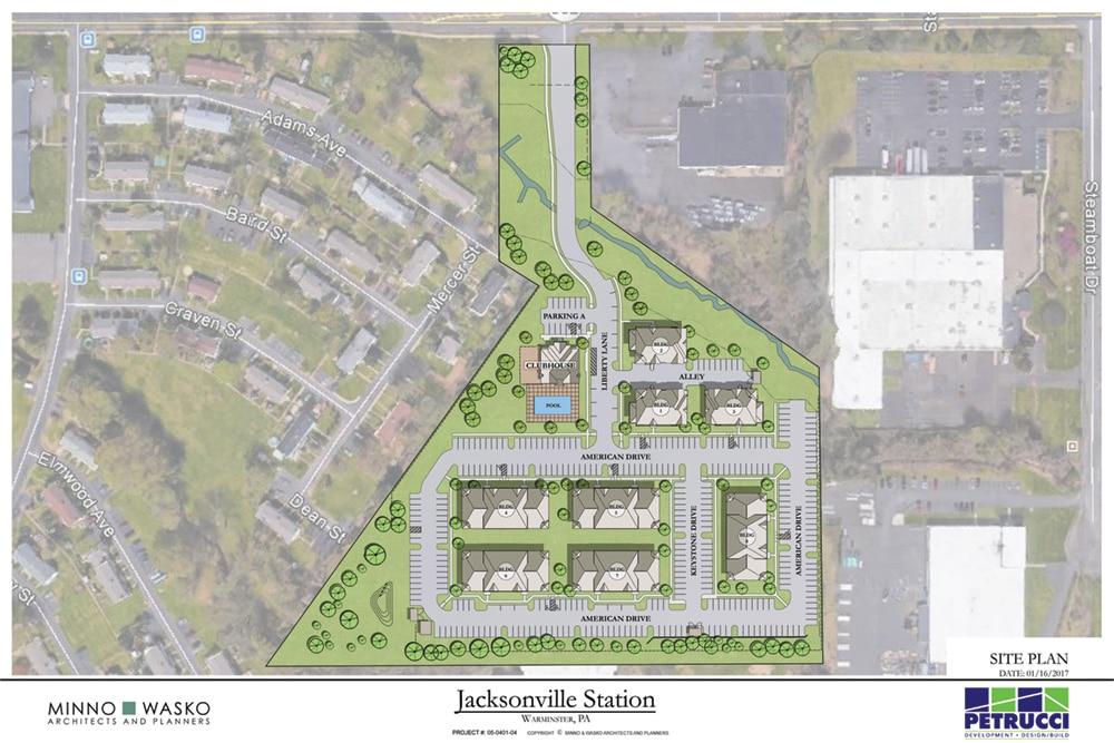 Jacksonville Station Two Bedroom Floor Plans